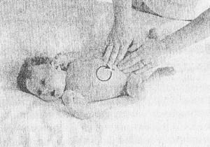 массажные движения при коликах у ребенка