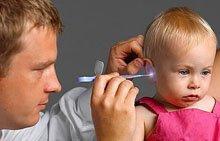 Ушная инфекция у детей