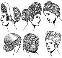 Первые сведения о прическах (Древний Египет и Древняя Эллада)