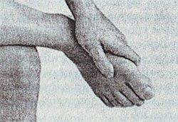 Лечение гипертонии точечным массажем точки LIV-3