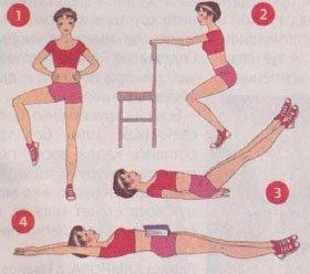 Как не поправиться в праздники: Упражнения