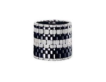 Керамические ювелирные изделия от Шанель - Chanel: черный керамический браслет