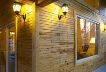 Построить дом деревянными кирпичами