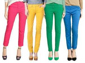 Яркие брюки лета 2012
