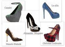 Тенденции обуви осень 2012