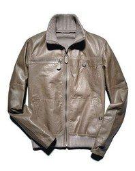 Летная кожаная куртка Фото 3