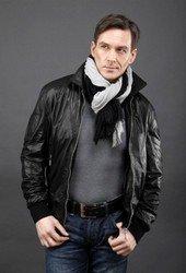 Мужская кожаная куртка AFG