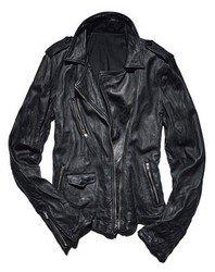 Мужская кожаная куртка Фото 2