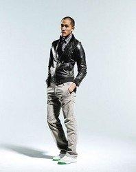 Мужская кожаная куртка Фото 3