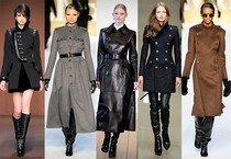 Модные пальто весны 2013
