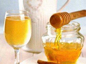 Общеукрепляющий напиток из меда