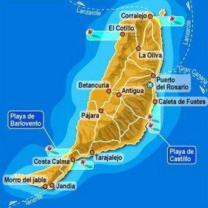 Остров Фуэртевентура