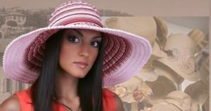В моде весной 2013 женские шляпы с широким бортом