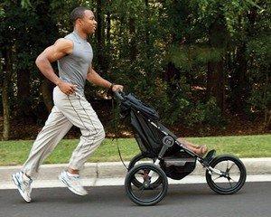 Спортивно-беговая коляска