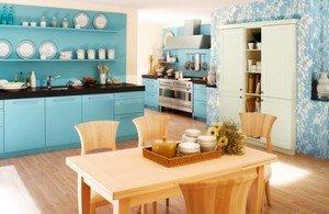 Уютная и стильная кухня