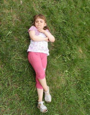 Моя племянница Оля