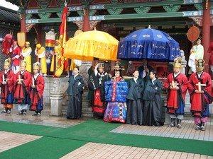Традиционная церемония корейского бракосочетания
