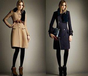 Модное пальто сезона осень 2013