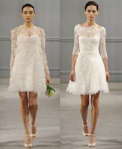 Свадебные платья Monuque Lhuillier