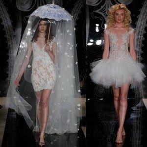 Свадебные платья в стиле А-силуэт
