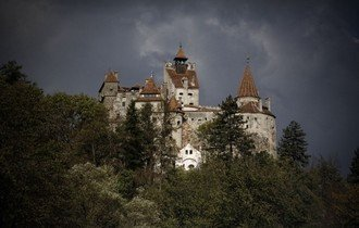 Замок Бран - настоящий замок Влада III Цепеша