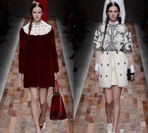 Меховая одежда от Valentino