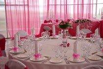 Небольшие советы по украшению свадебного банкетного зала