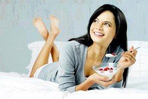 Схема диетического питания при йогуртовой диете