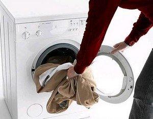 Отстирывание пятен крови в стиральной машине
