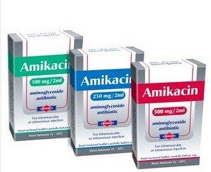 Амикацин - аминогликозид III поколения