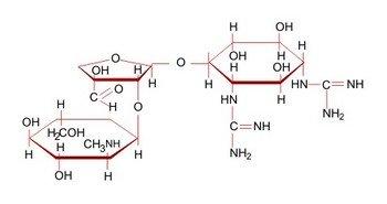 Формула стрептомицина