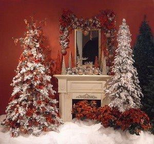 Украшение елок на Новый Год 2014
