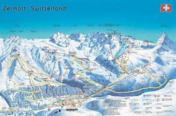 Церматт - знаменитый горнолыжный курорт Швейцарии