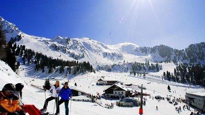 Прекрасный швейцарский горнолыжный курорт