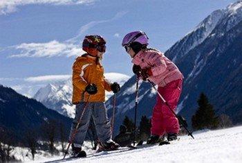 Выбираем лыжи для детей