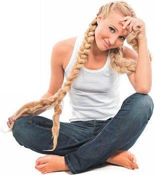 Модный шиньон-коса