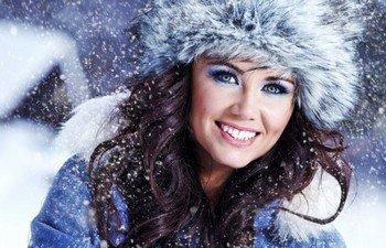 Сухая кожа зимой