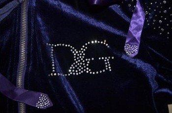 Велюровый костюм Dolce&Gabbana