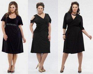 Фасоны платьев для полных, в модных коллекциях 2013 года