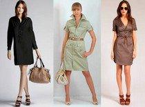 Модные платья-рубашки сезона весна-лето 2014