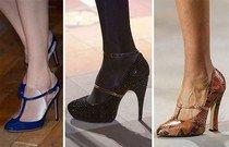 Модные тренды обуви 2014 года