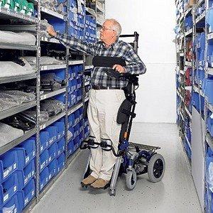 Инвалидная коляска с вертикализатором