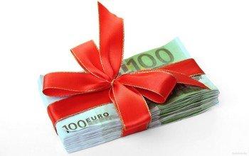 Деньги в подарок мужчине