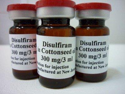 Дисульфирам - непатентованное название большинства средств для химического кодирования