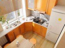Простые советы для обустройства маленькой кухни