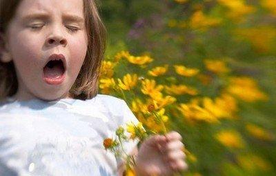 Поллиноз у детей чаще всего наблюдается весной и летом