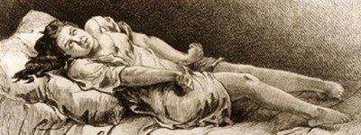 Приступ эпилепсии. Средневековая гравюра