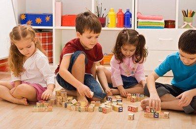 Игры с детьми в дошкольном учреждении