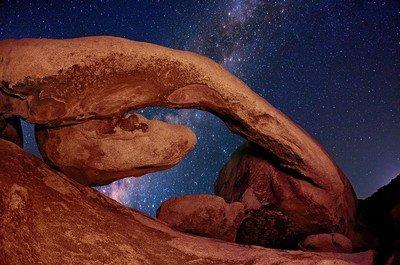Ночная красота парка Джошуа-Три