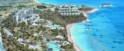 Курорт Кушадасы располагается на берегу Эгейского моря